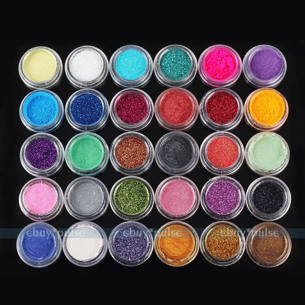 30 Colors Makeup Loose Powder Glitter Eyeshadow Eye Shadow