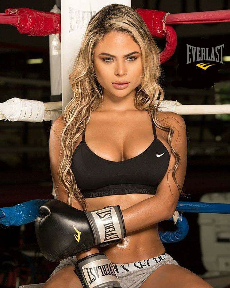 A Women's Boxing Champion Wants Hot Ring Boys Instead Of Half