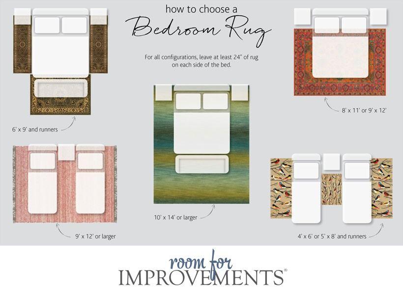 Improvements Hsn Bedroom Rug Placement Bedroom Rug Rug Placement