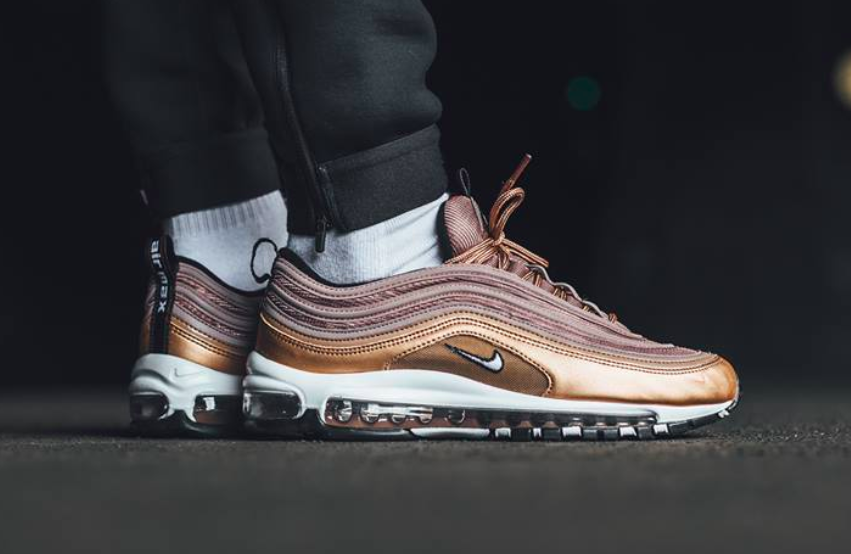 Get The Nike Air Max 97 Metallic Red Bronze Now | Nike air