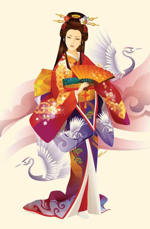 Imagenes Geishas Japonesas Cerca Amb Google Geisha Japonesa Arte Geisha Dibujos Japoneses