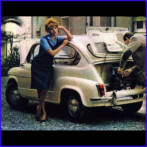 VOLKSWAGEN MAGGIOMODELLI: FIAT 500 E 600 LE UTILITARIE DI UNA VOLTA...........VINTAGE FOTO E SEXY GIRL.............................