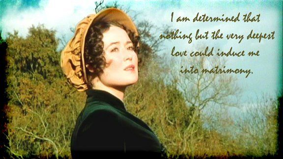 Jane Austen Quotes Wallpaper I Am Determined That Nothing But The Very Deepest Love