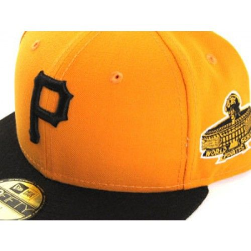PITTSBURGH PIRATES Black Red Yellow Alternate ACP New Era Hat