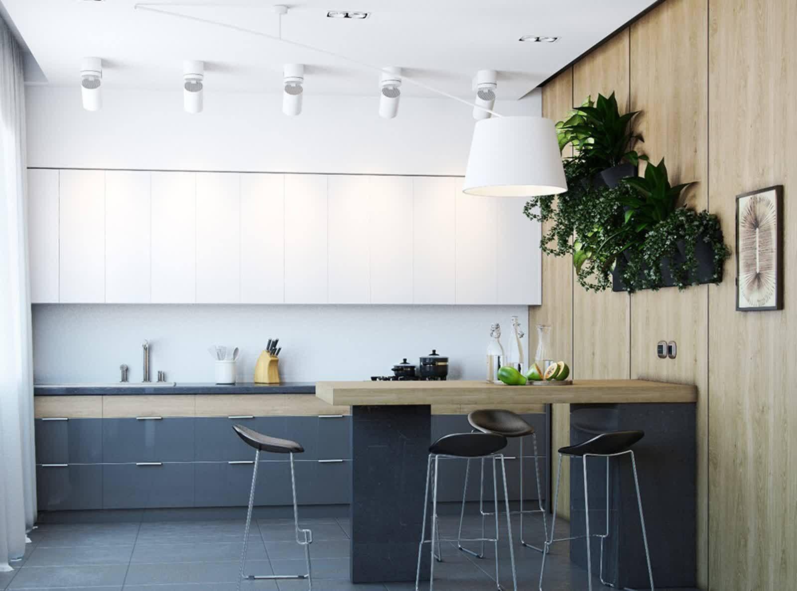 schwarze und weiße vorhänge Möbelideen  Kleine Küchendesign  Pinterest