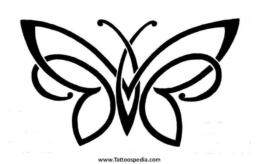 Irish Butterfly Tattoo Designs 4