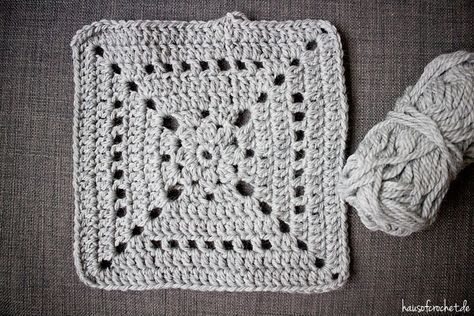 Tutorial Grey Granny Square Decke Häkeln Pinterest Crochet