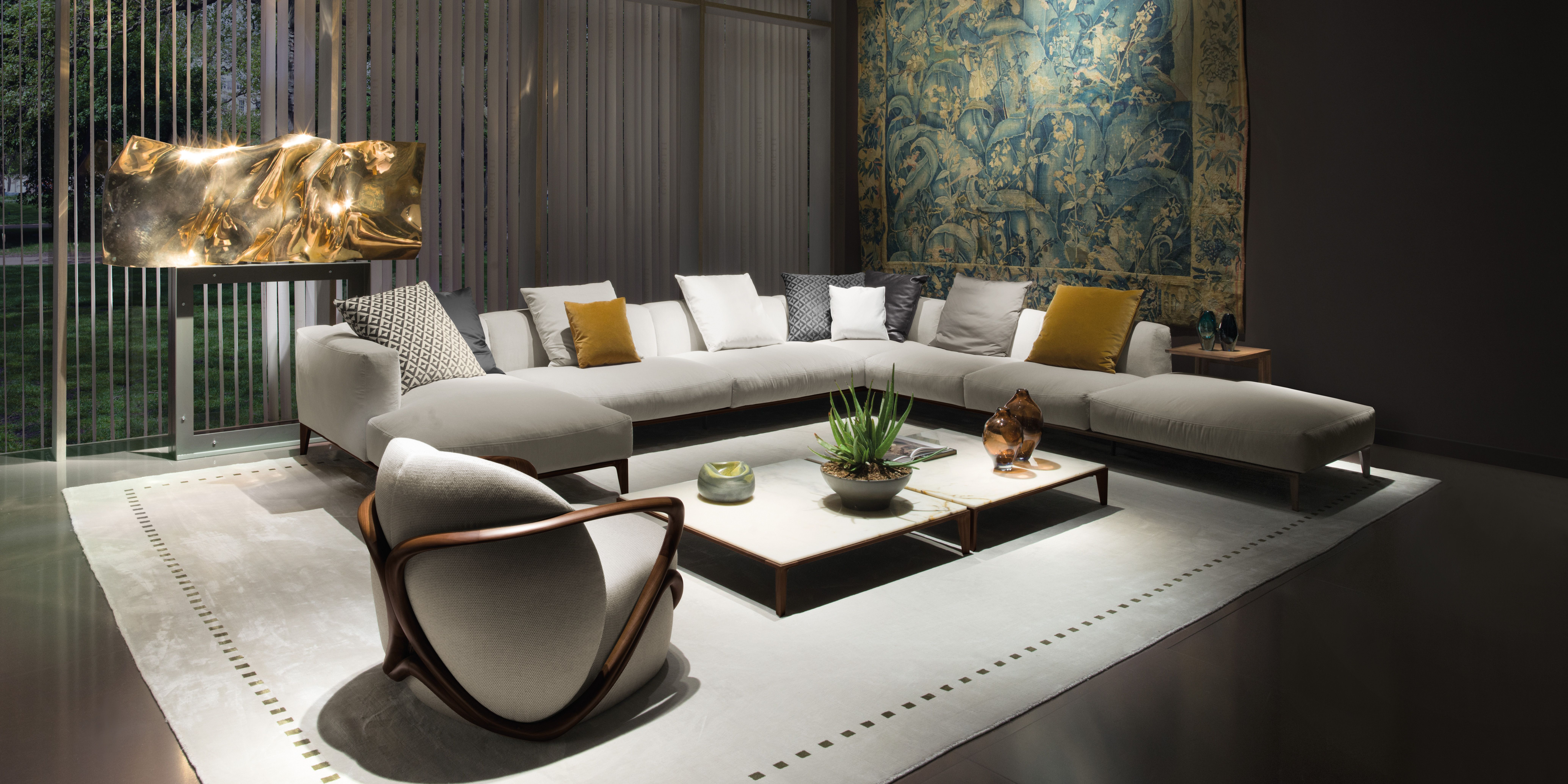 Living Area. interior design