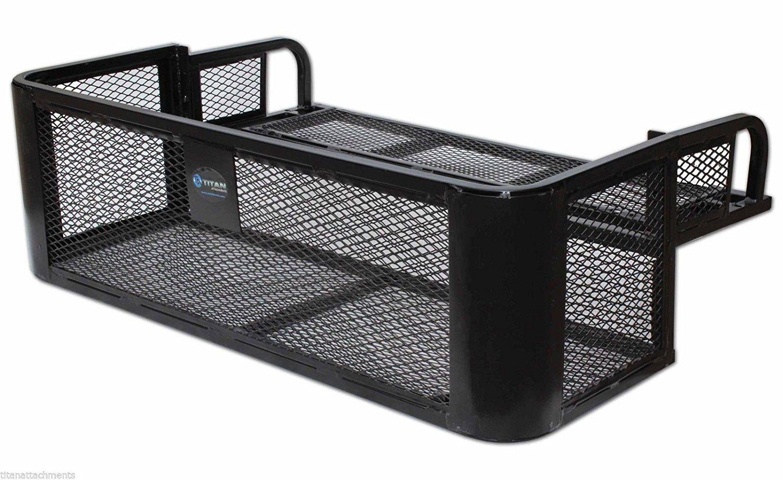 ATV UTV Universal Rear Drop Basket Rack Steel