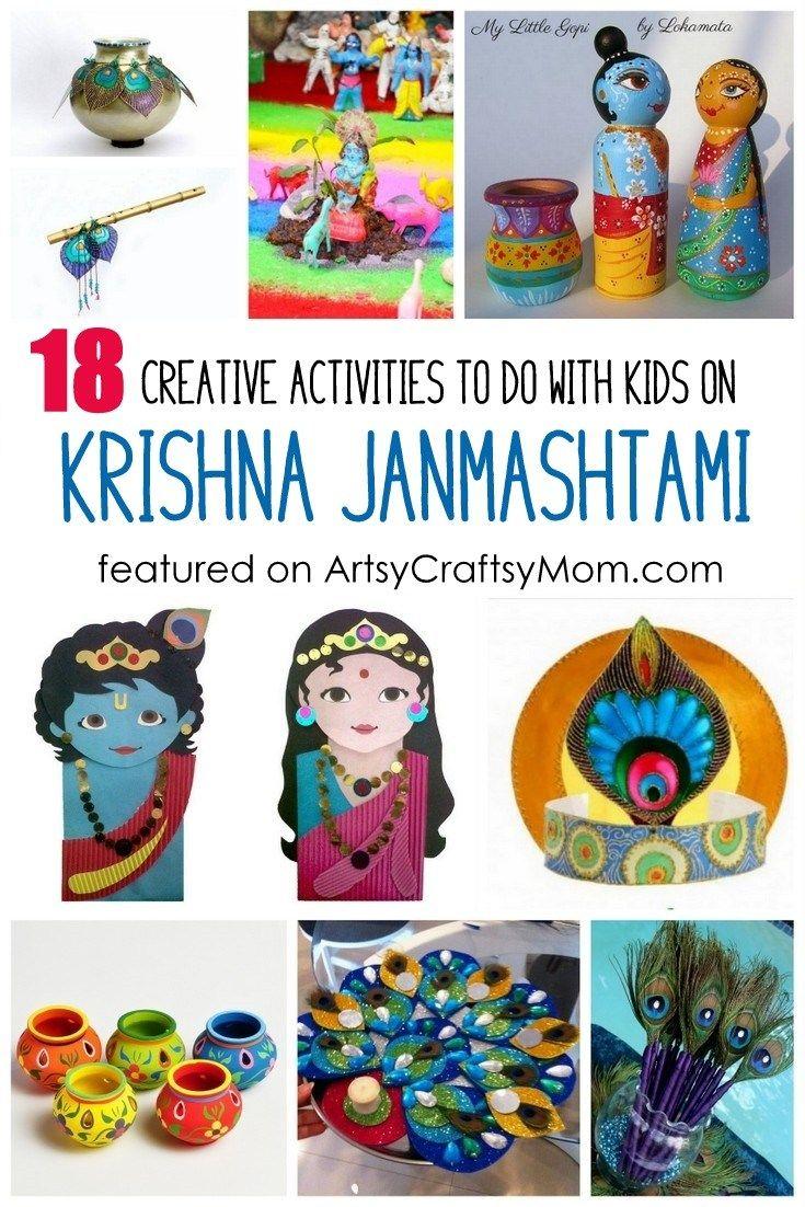 18 Creative Activities To Do On Krishna Janmashtami With Kids Kbn