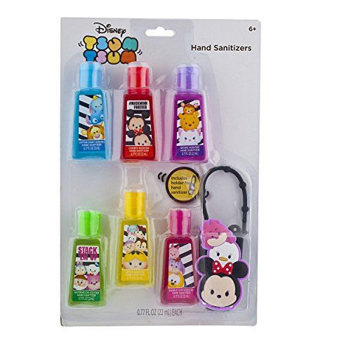 Townley Girl Disney Tsum Tsum Hand Sanitizer For Kids Includes
