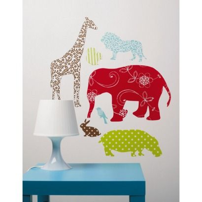 Wallies® Peel and Stick Wall Decal Waverly Animal
