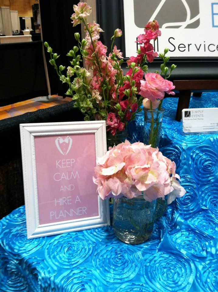 Bridal Show Booth Set Up Simply Events LLC www