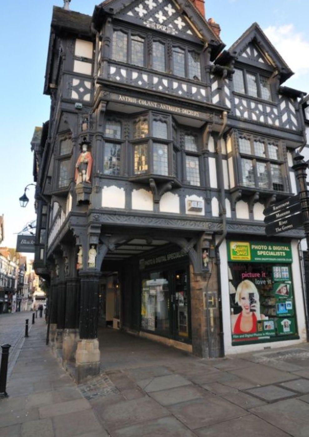 チューダー様式, 英語スタイル, チェスター, 見どころ, イギリス諸島, 復活アーキテクチャ, 英国, 有名な建物, 1階