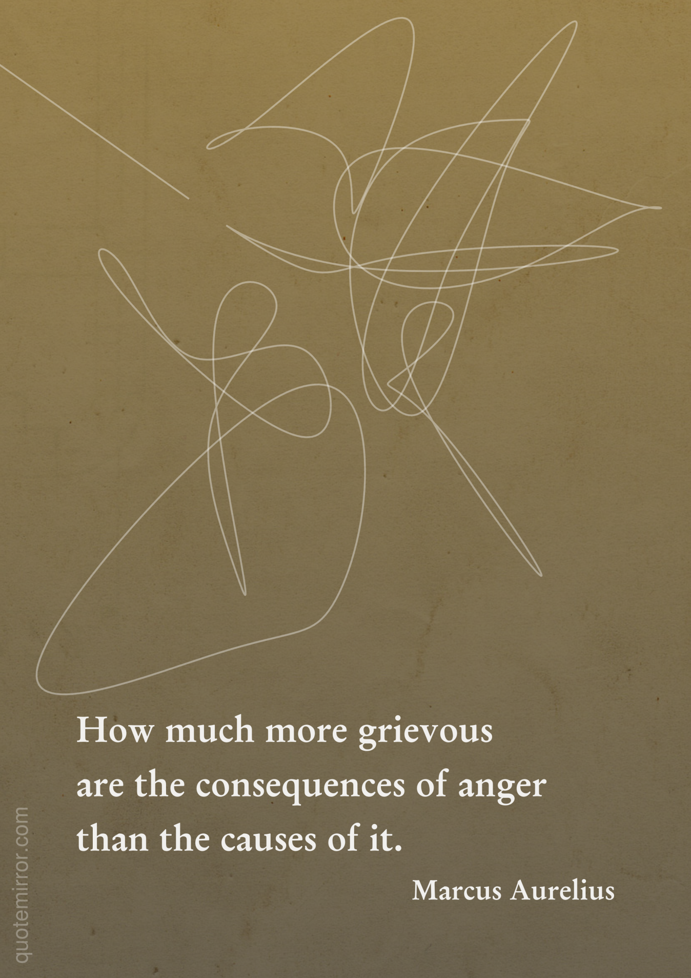 The consequences of anger | Anger quotes, Anger, Marcus ...