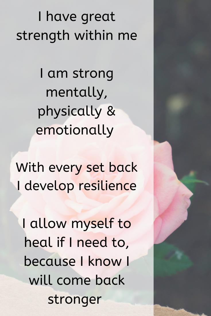 inner strength, self love affirmations motivation, self