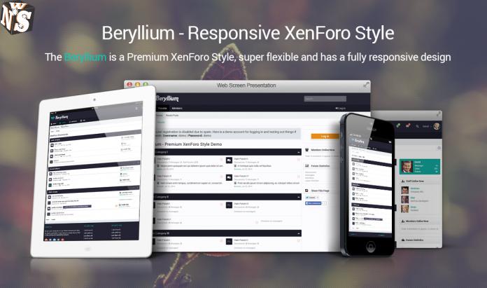 nice Beryllium v2 0 10 - Premium Style XenForo 2 Beryllium