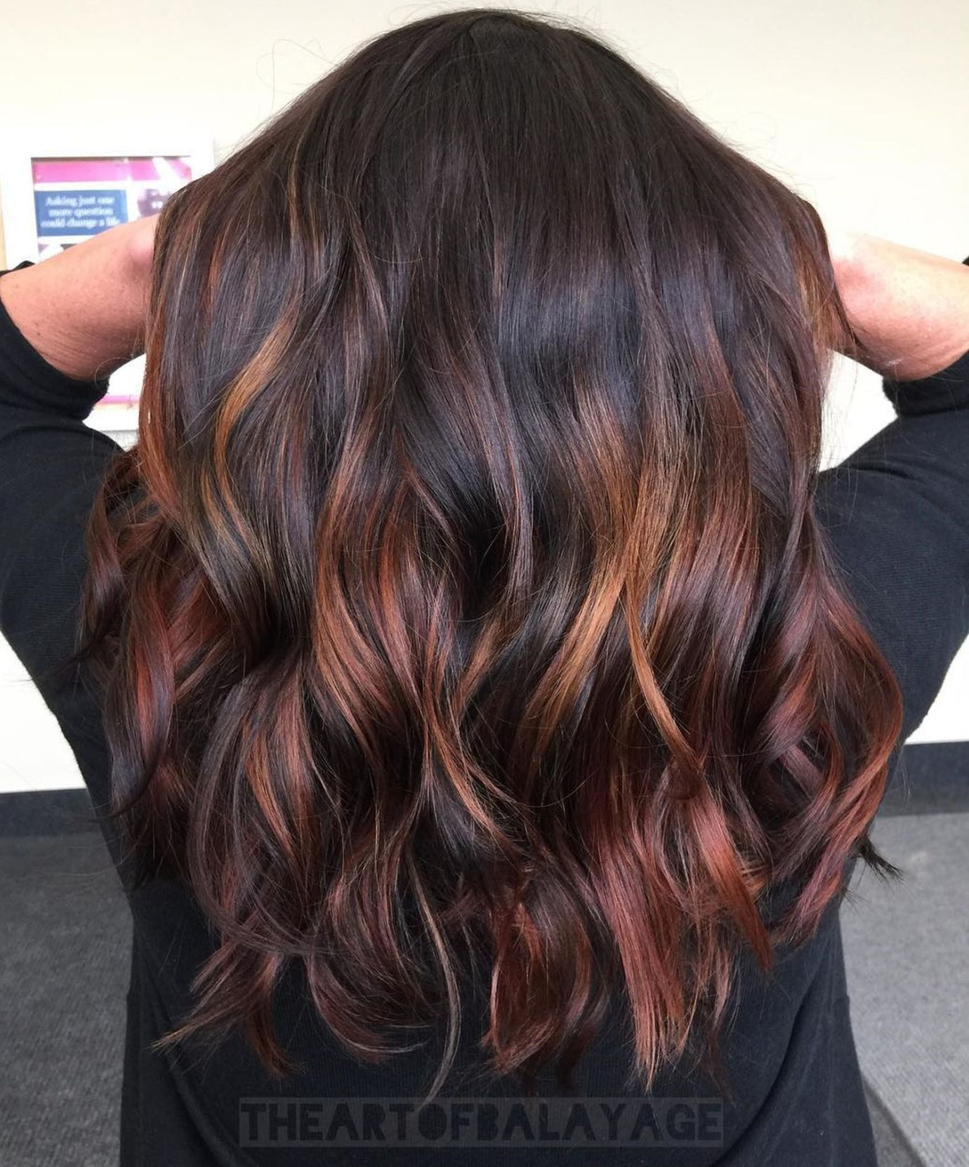 60 Hairstyles Featuring Dark Brown Hair With Highlights Hair Highlights Brown Hair With Highlights Red Highlights In Brown Hair