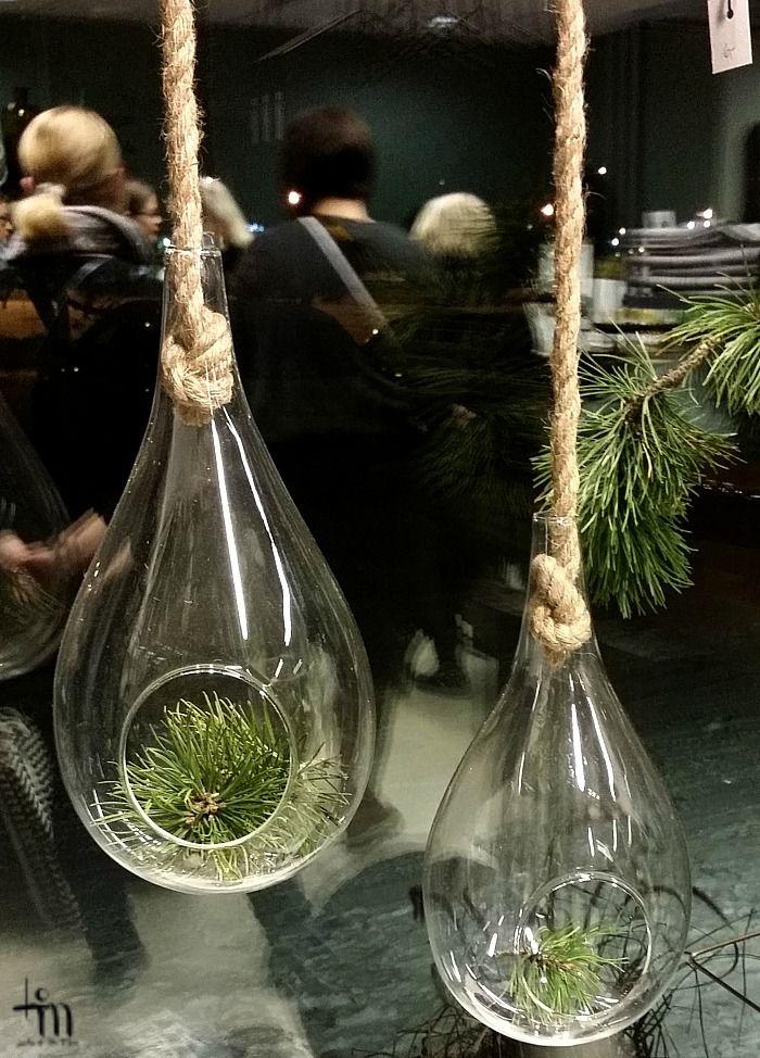 havuja lasipalloissa