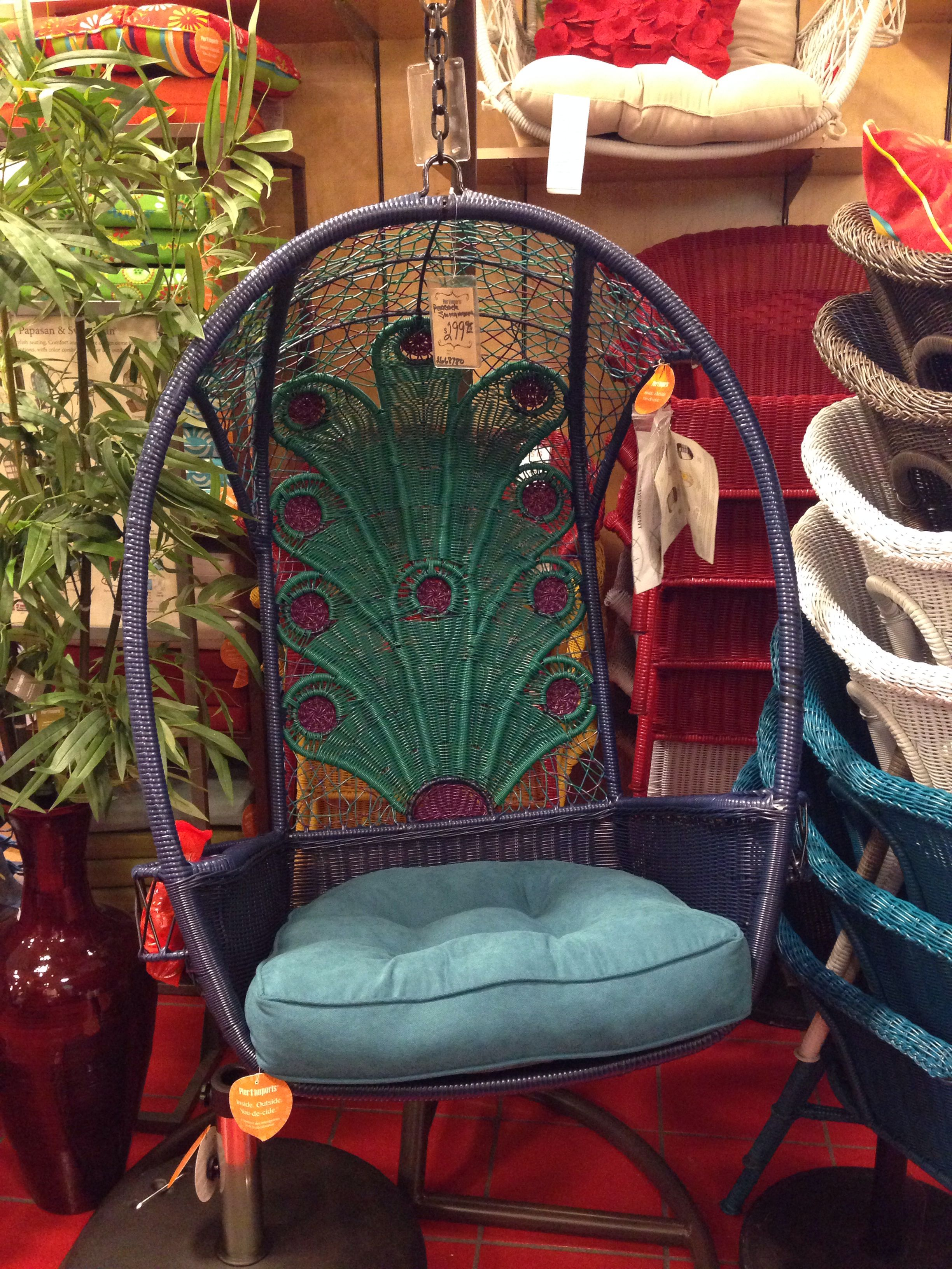 Peacock Porch Swing Yes Please Pier One Home Porch