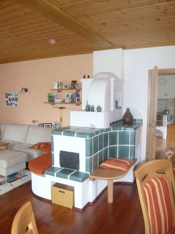 Ofen Weiss - Kachelofen - Grundofen kachelofen Pinterest - bilder wohnzimmer einrichtung weis