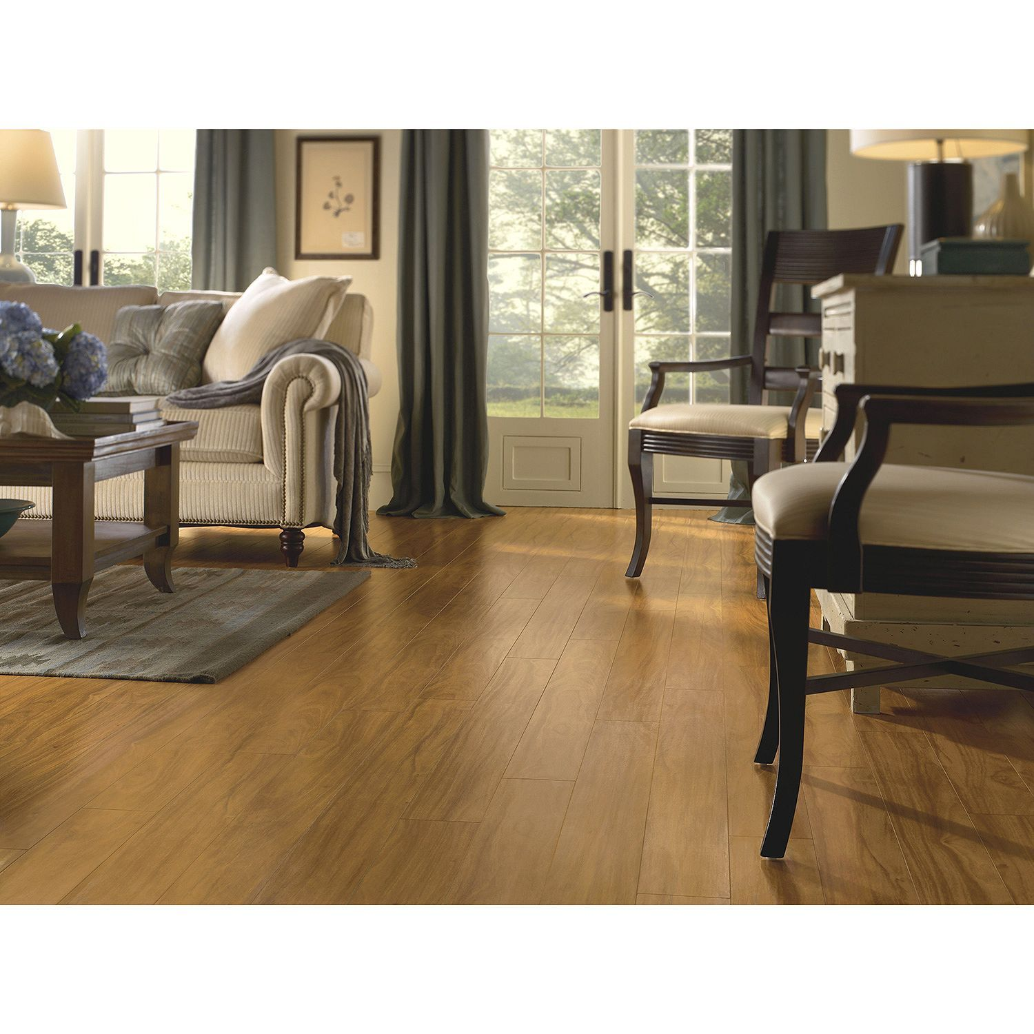 Premier By Armstrong 12mm Afzelia Laminate Flooring With Images Hardwood Design Types Of Wood Flooring Laminate Flooring