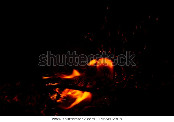Bright Orange Fire Sparks New Year Stock Photo Edit Now 1565602303 Photo Editing Stock Photos Bright Orange