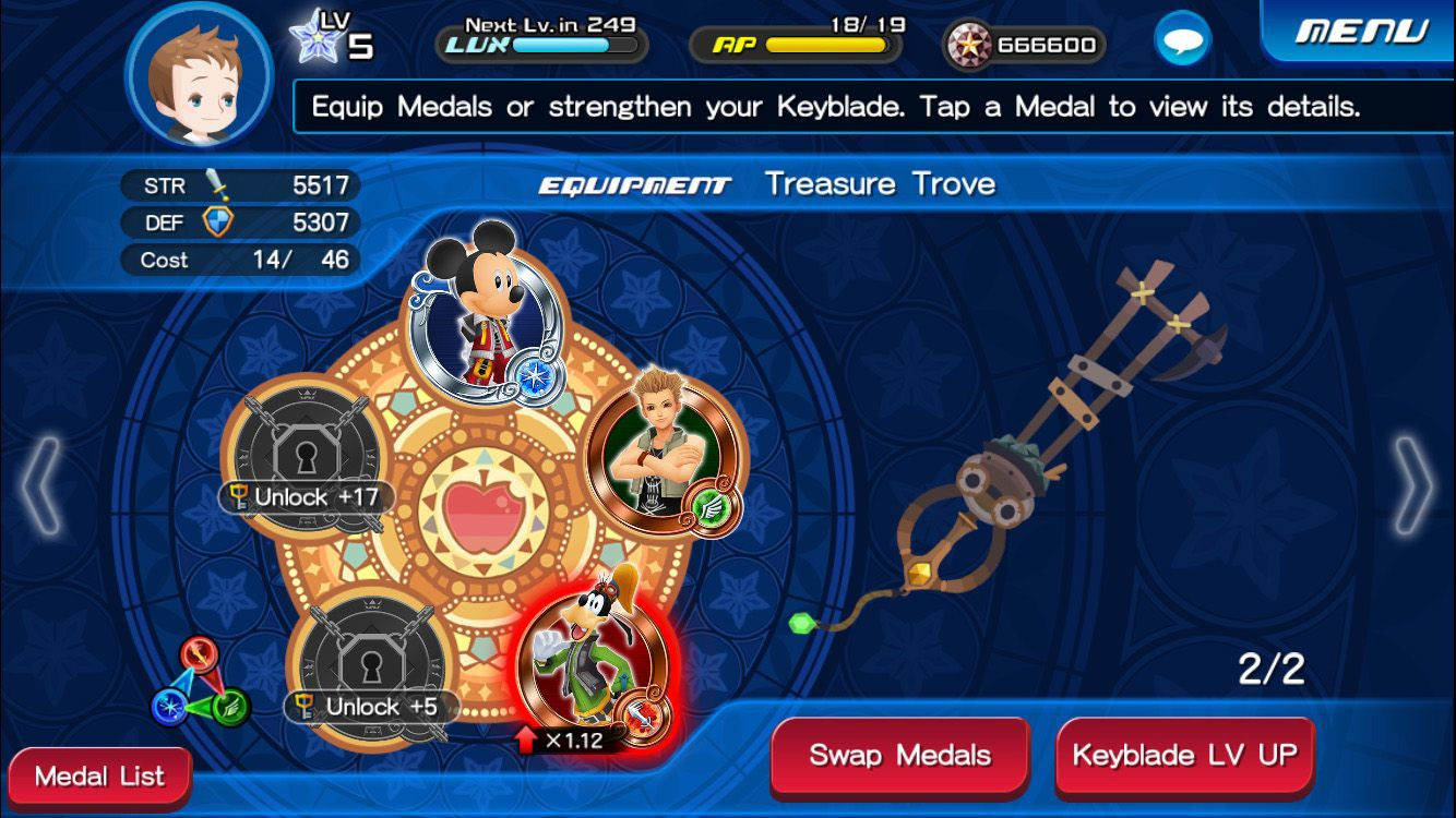kingdom hearts union x mod apk