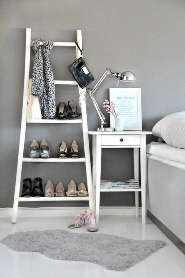 schuhregal selber bauen 30 pfiffige diy ideen f r sie in 2018 heimwerker pinterest. Black Bedroom Furniture Sets. Home Design Ideas