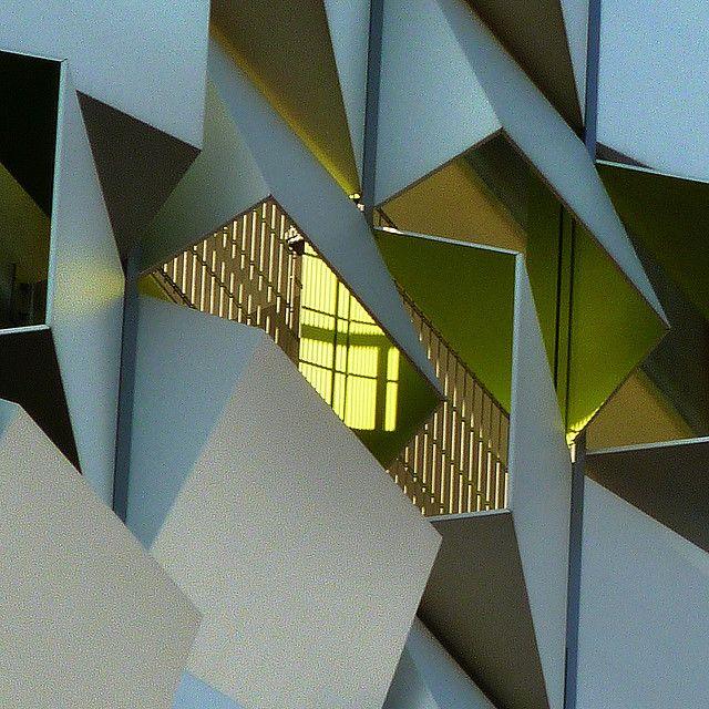 top floor by pho-Tony, via Flickr. Sugar Cube car park, Sheffield, London