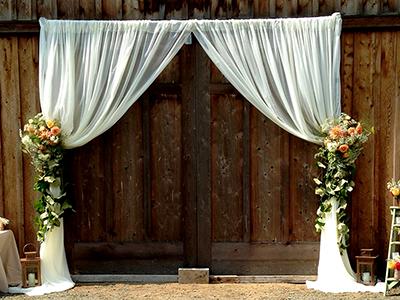 1 Toronto Entrance Door Drapes Wedding Entrance Decor Barn Wedding Rustic Wedding Seating