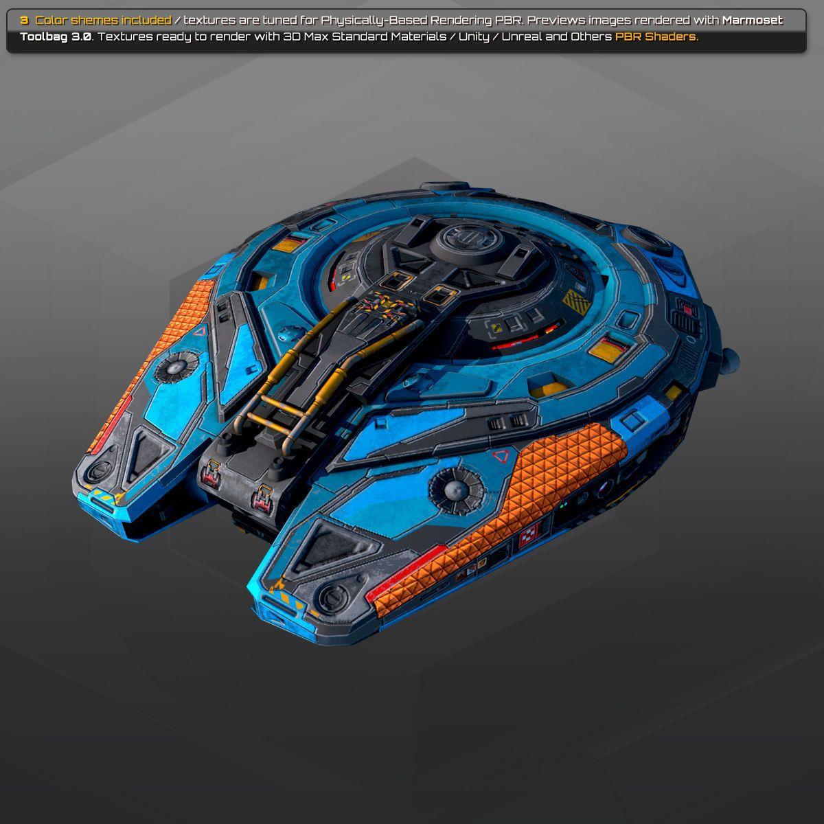 Spaceships Vol-16 | 3D model