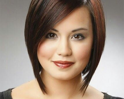 hairstyle for round face  short hair styles for round
