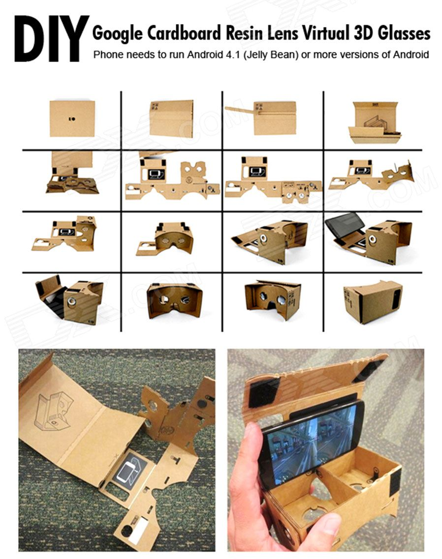 highest quality and cheap assembling google virtual reality