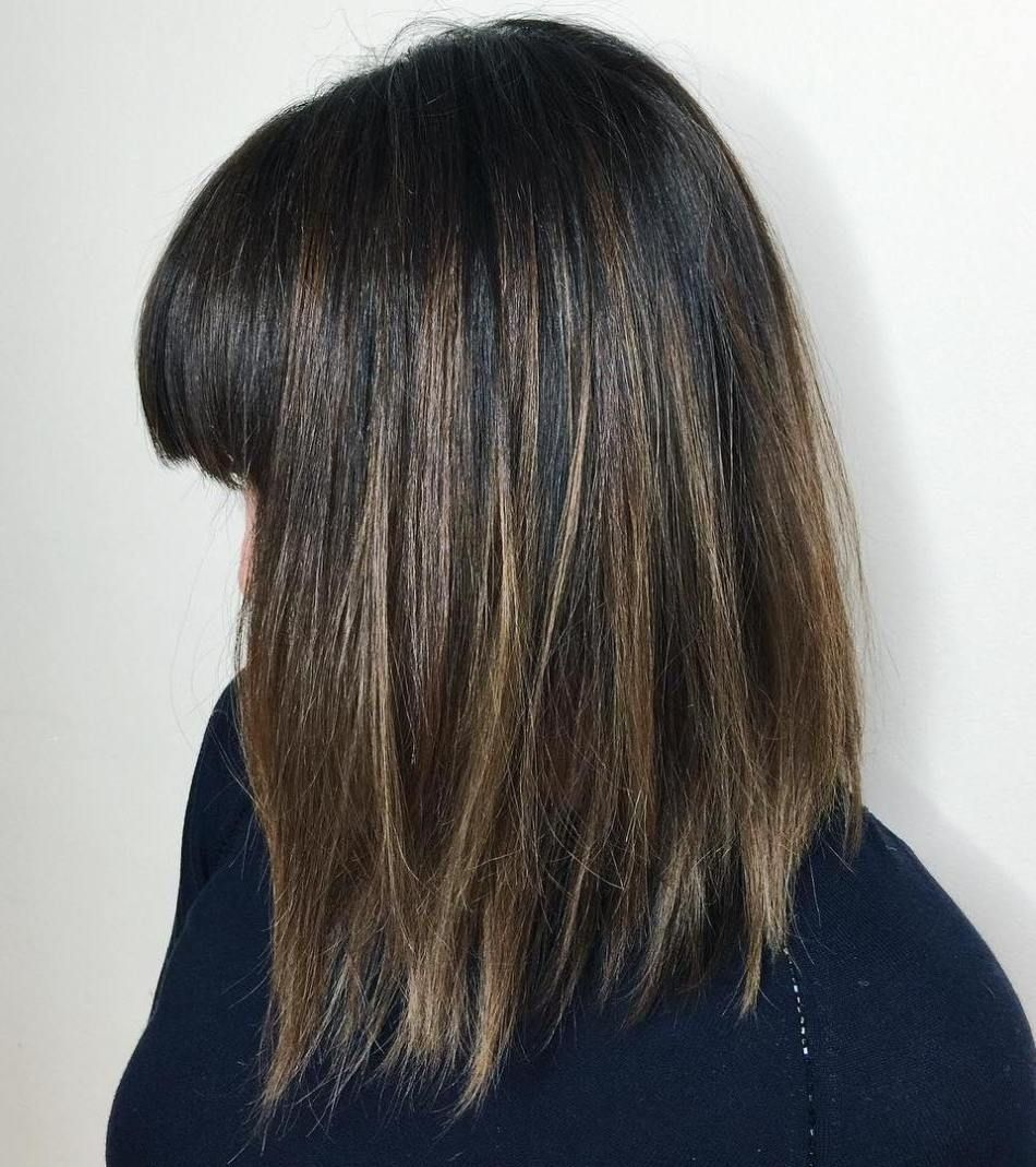 20 Long Choppy Bob Hairstyles For Brunettes And Blondes Bob Frisur