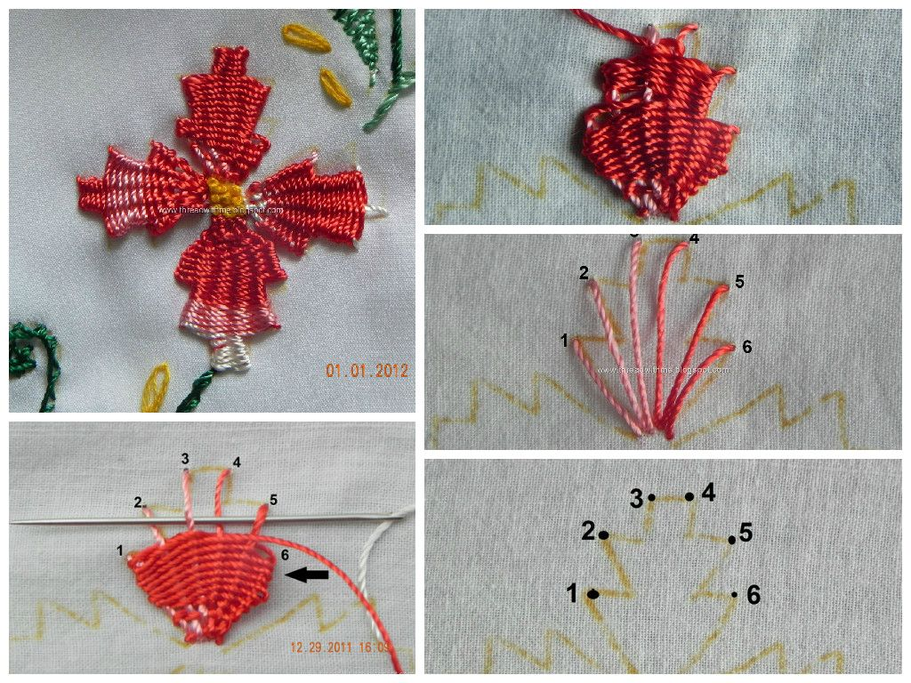 Kamal kadai work embroidery tutorials and