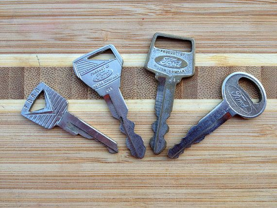 5 Vintage Ford Car Keys For Collectors By Harmonyschoolhouse 15 00