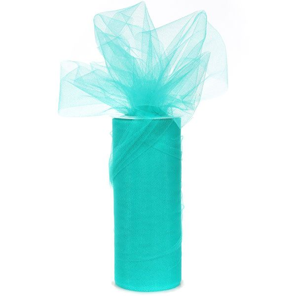 Teal Tulle (25 yards)