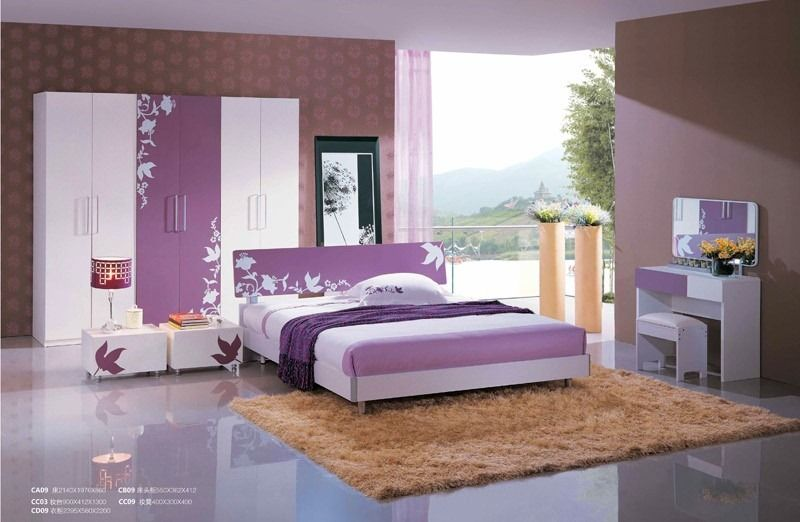 teen girl purple room | purple room decorating samples for teens - 4 ...