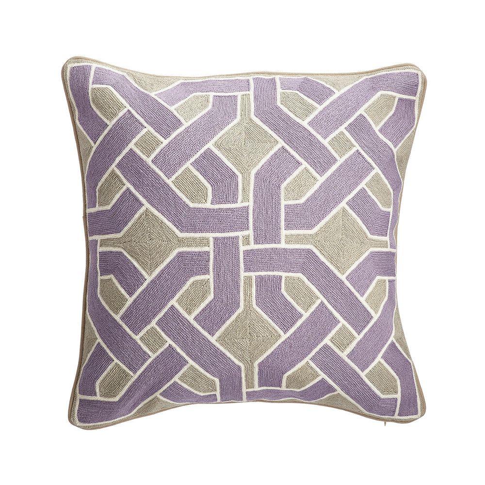 Knot pillow cover u lavender new home design pinterest knot
