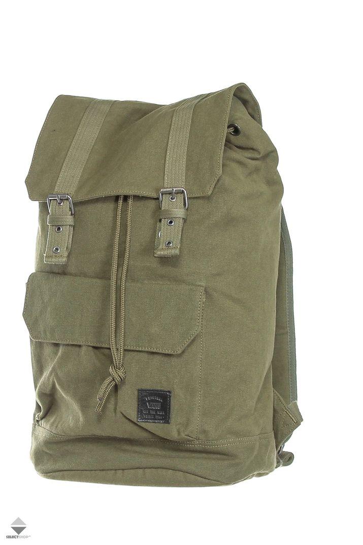 Plecak Vans Commissary 0a2yyxivg Green Vans Mountain Backpack Bags