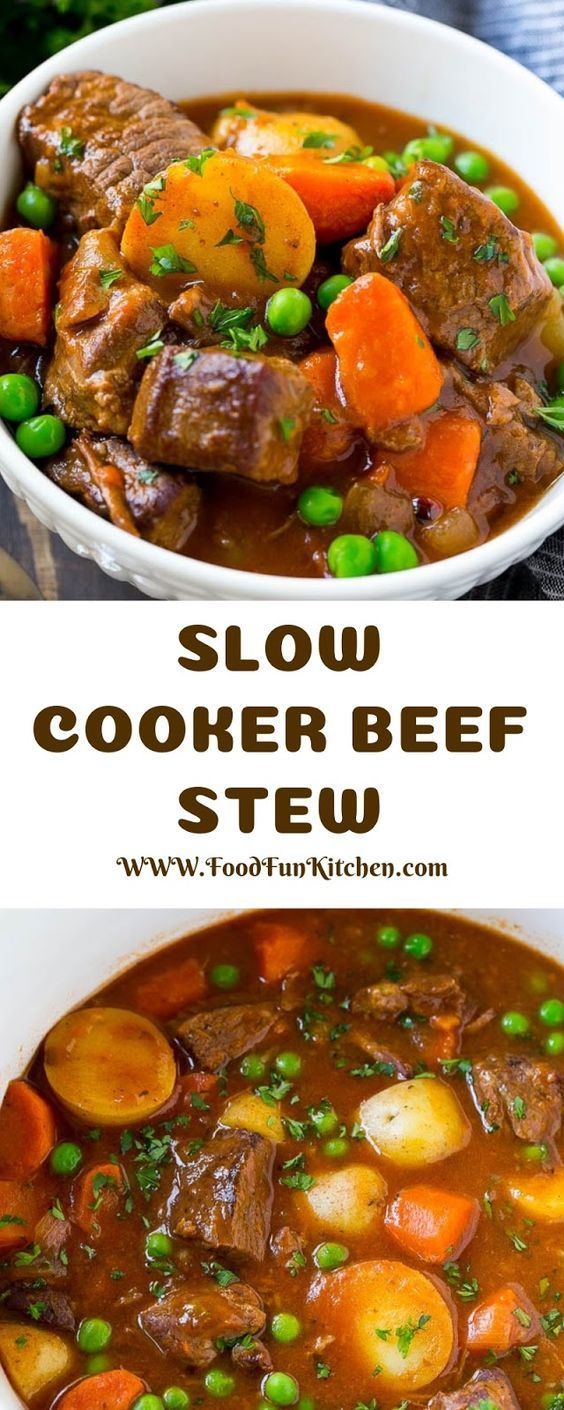 SLOW COOKER BEEF STEW images
