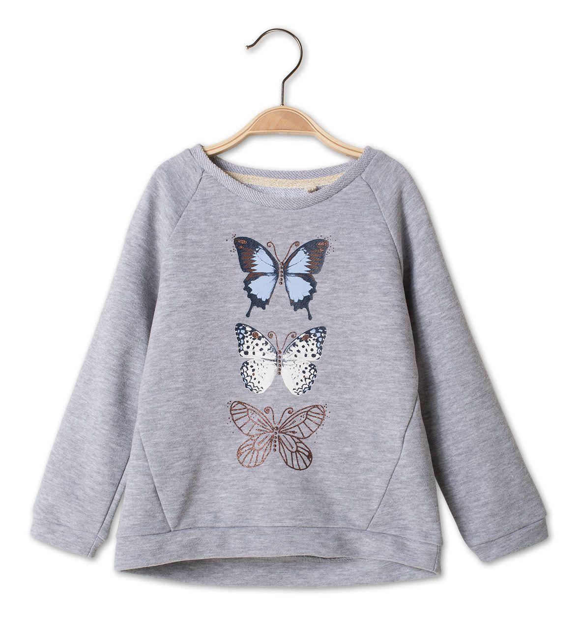 Madchen Gr 92 176 Sweatshirt In Grau Mode Gunstig Online Kaufen C A Graue Mode Sweatshirt Mode