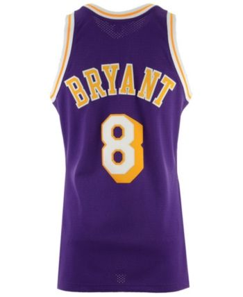 c8d77a6a454 Mitchell   Ness Men s Kobe Bryant Los Angeles Lakers Authentic Jersey -  Purple XXL