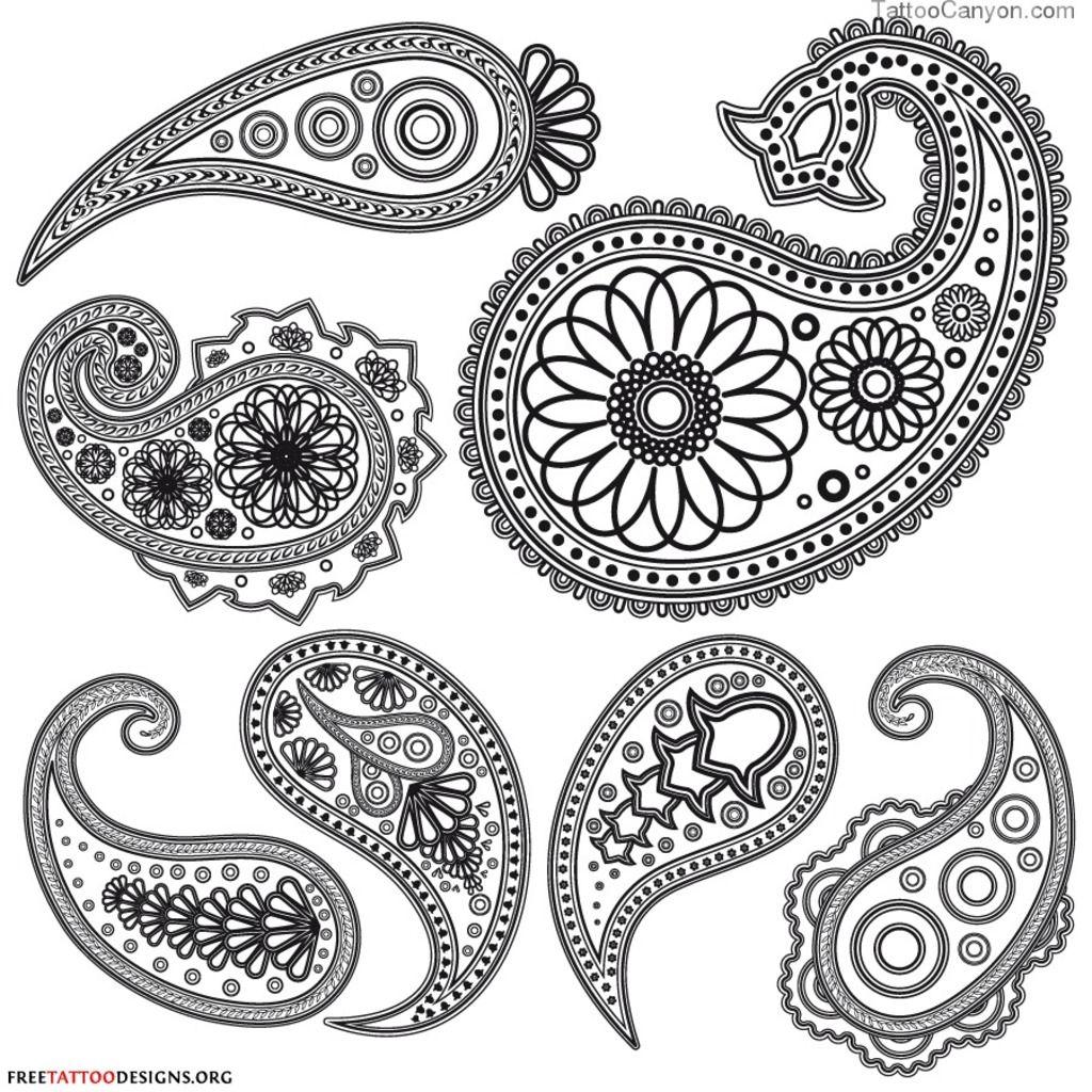 Free tattoos designs download - Mendhi Design