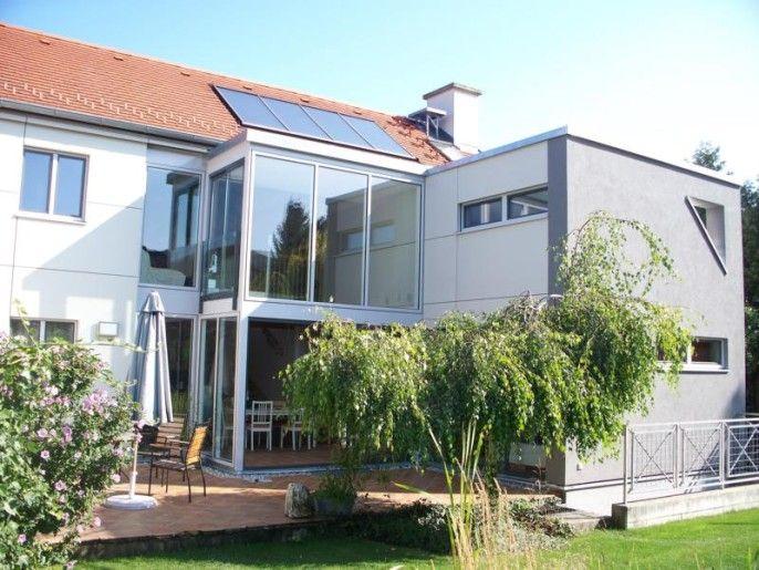 Mobiler Wintergarten ~ Moderner wintergarten mit schiebetüren design wintergarten