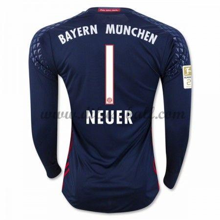 Neues Bayern Munich 2016 17 Fussball Trikot Neuer 1 Torwart Langarm Heimtrikot Shop Neue Wege Bayern Trikots