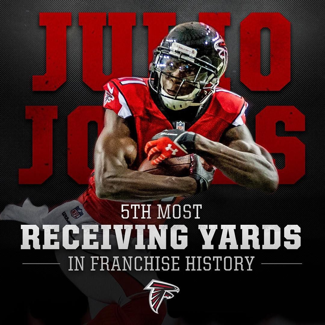 Atlanta Falcons On Instagram Julio Finished Off The First Quarter By Making History Atlanta Falcons Football Atlanta Falcons Superbowl Atlanta Falcons Memes