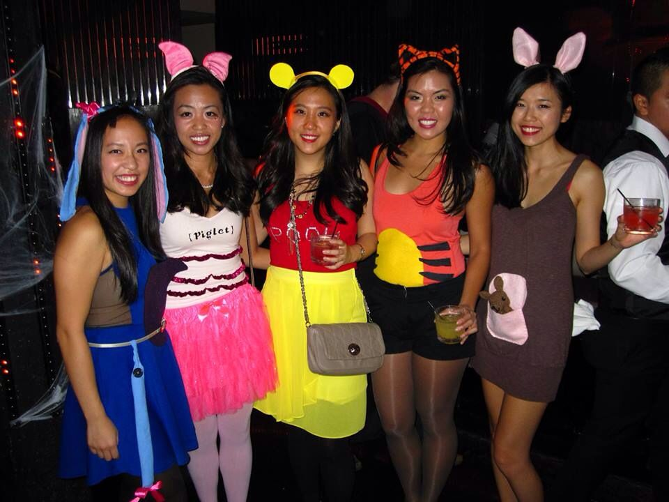 Winnie the Pooh and friends costumes | Fasching