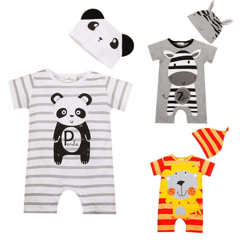 930b0f15f79a Baby Boy Rompers Summer Baby Girl Clothing Sets   Price   20.31   FREE  Shipping